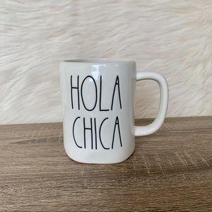 """Rae Dunn """"Hola Chica"""" 16 oz. Mug"""
